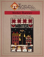Winter Banner/ Table Runner Pattern by Timeless Traditions
