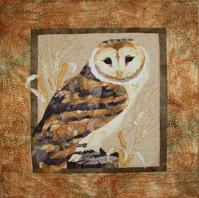 Barn Owl Mellow Meadow Fusible Applique Quilt Pattern