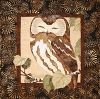 Cute Owl Fusible Applique Quilt Pattern