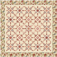 Hillensberg Quilt Complete Kit Cream by MIchelle Yeo