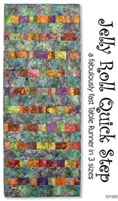 Jelly Roll Quick Strip Quilt Pattern