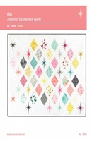 Atomic Starburst Quilt Pattern by From Violet Craft
