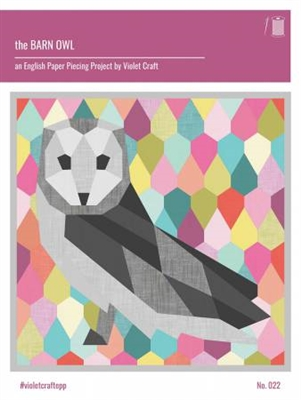 Barn Owl Quilt Pattern by From Violet Craft