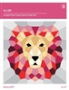 Lion Quilt Pattern by From Violet Craft