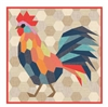 The Rooster Quilt Pattern from Violet Craft