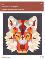 Wolf Abstractions Quilt Pattern by From Violet Craft