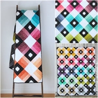 Ombre Lattice Quilt Pattern by V and Co
