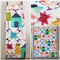 Welcome Home Quilt Pattern by V and Co