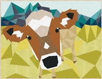 The Cow Abstractions Quilt Pattern from Violet Craft