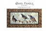 Quail Family Applique Quilt Pattern by June Jaeger