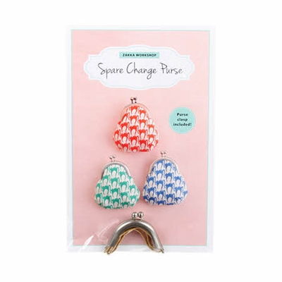 Spare Change Purse Kit with Pattern