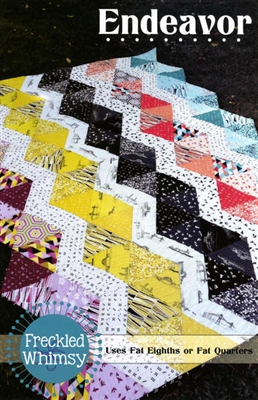 Endeavor Quilt Pattern Freckled Whimsey