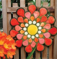Dahlia Wool Candle Mat Applique Quilt Pattern