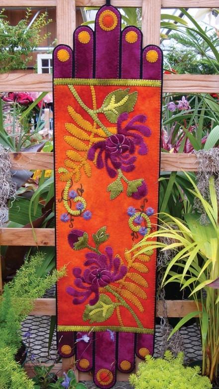 Fall Favorites Wool Applique Runner Quilt Pattern