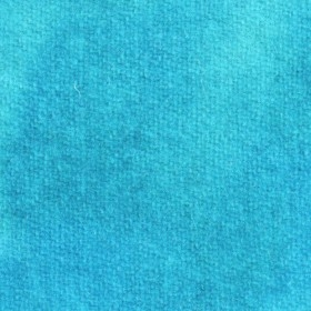 Made In America Hand Dyed Turquoise Blue Wool Cloth