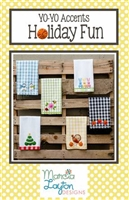 Holiday Fun Tea Towel Pattern  by YoYo Accents