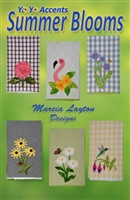 Summer Bloom Tea Towel Pattern  by YoYo Accents