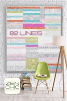 82 Lines Quilt Pattern by Zen Chic