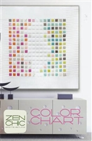 Color Chart Quilt Pattern by Zen Chic