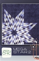 Mega Star 2 Quilt Pattern by Zen Chic