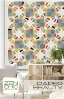 Paper Beauty Quilt Pattern by Zen Chic