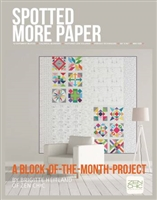 Spotted More Paper Quilt Pattern by Zen Chic