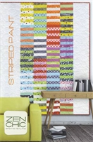Striped Paint Quilt Pattern by Zen Chic